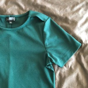 The Limited | Textured Shirt Blouse - Green
